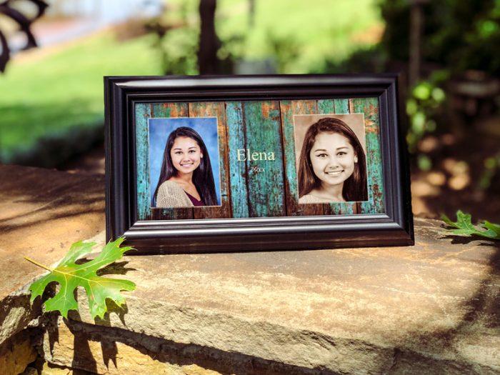 5x10 framed portrait